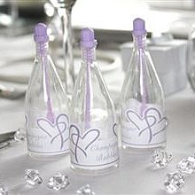 Lilac Top Champagne Bubbles