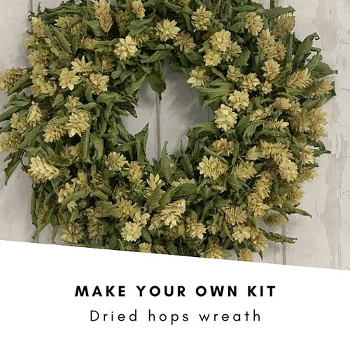 Make Your Own Dried Hops Wreath Kit