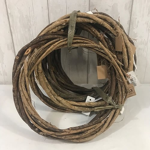 Natural Twisted Vine Wreaths (select size)