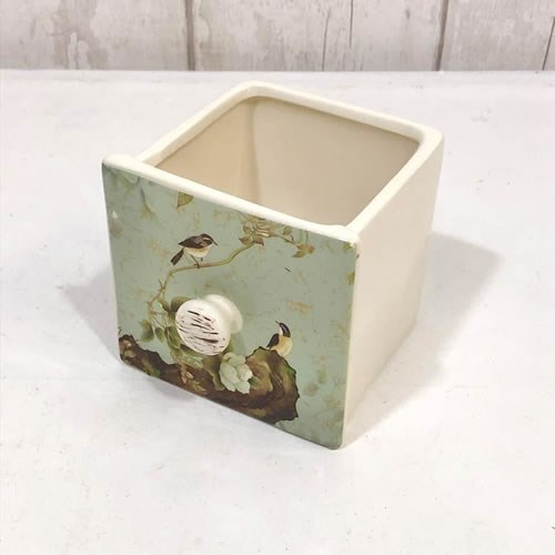 Pot Drawer - Apple Blossom