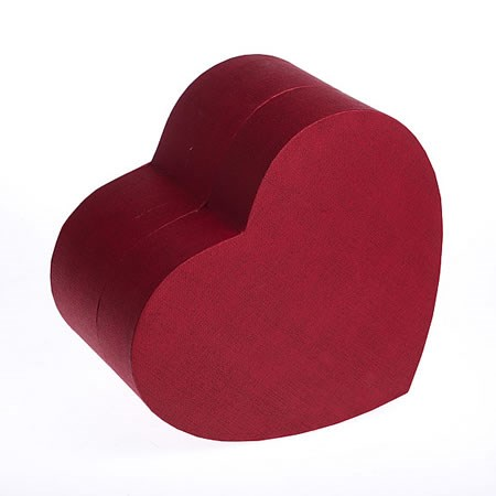 Presentation Boxes - Red Heart (large)