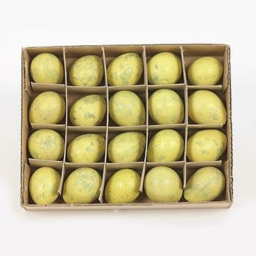 Quail eggs yellow x20