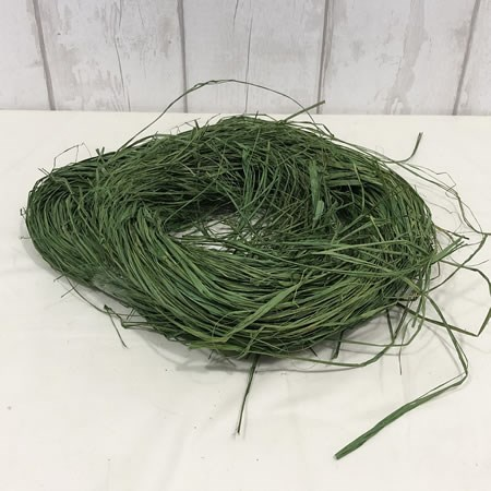 Raffia Hunter Green