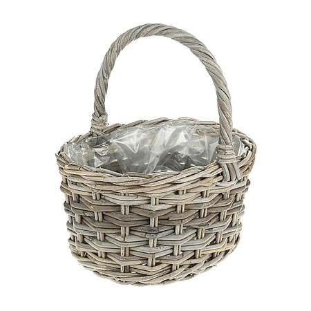 Rattan Basket - Medium Posy