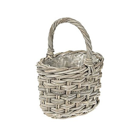 Rattan Basket - Small Posy