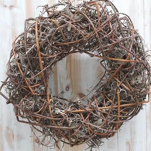 Wreath - Bonsai & Willow 45cm