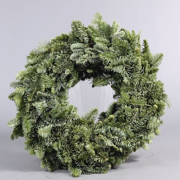 SPRUCE RING GREEN 30CM - FULLY BOUND