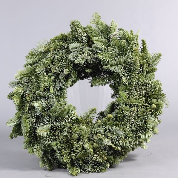 Spruce Ring Green 50cm - Half Bound