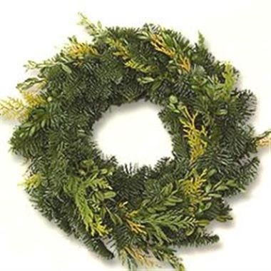 Spruce Ring Mixed 30cm - Half Bound