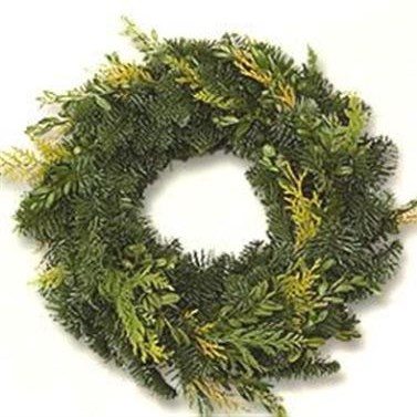 SPRUCE RING MIXED 40CM - HALF BOUND