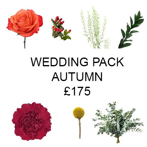 Wedding Flower Pack Autumn £175