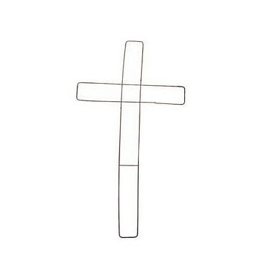Wire Crosses (18 inch)
