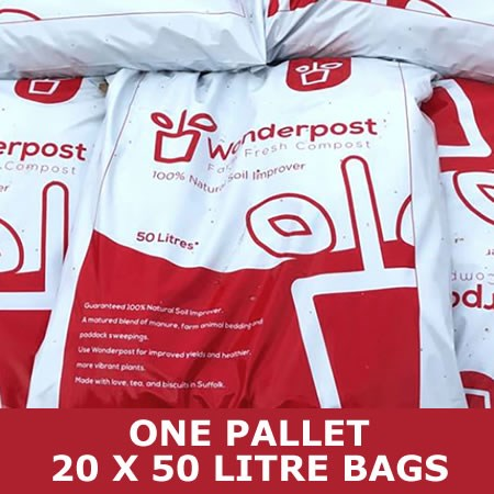 Wonderpost - 20 bag Pallet