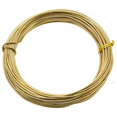 Wire - Aluminium Light Gold