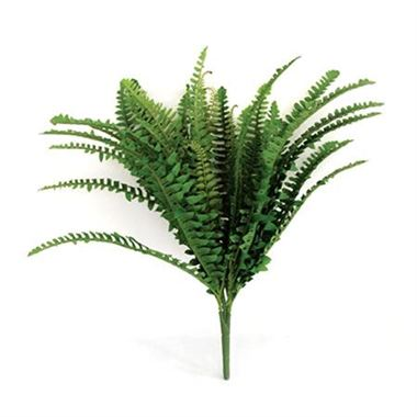 Artificial Boston Fern Bush - 36 leaves