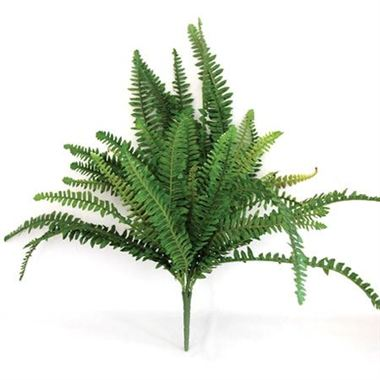 Artificial Boston Fern Bush - 48 leaves
