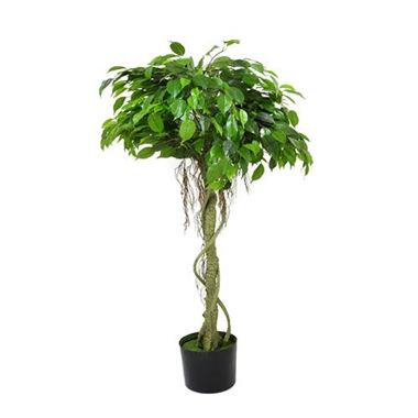 Artificial Ficus Tree - Green
