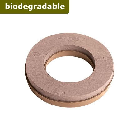 "Floral Foam Ring 10"" (Naturebase BIO)"