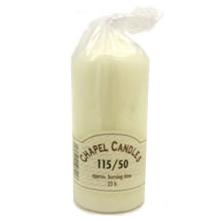Chapel Candles 115x50mm (22hrs)