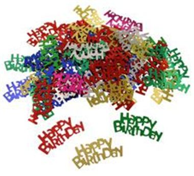 Table Confetti - Happy Birthday Mix
