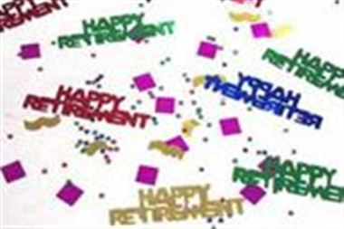 Table Confetti - Retirement