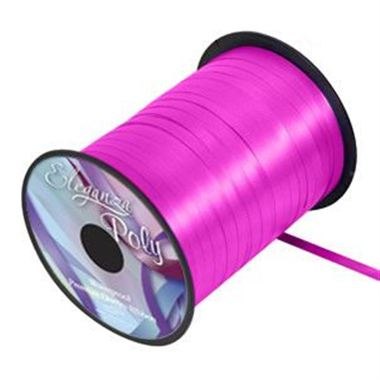 Ribbon Curling Fucshia  - 5mm