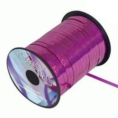 Ribbon Curling Holographic Fucshia - 5mm