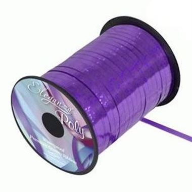 Ribbon Curling Holographic Purple - 5mm