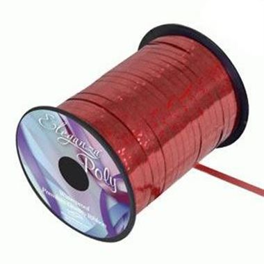 Curling Ribbon Holographic Red - 5mm