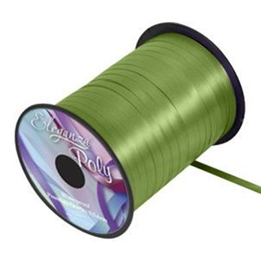 Ribbon Curling Pistachio Green - 5mm