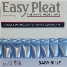 Ribbon Easy Pleat - Baby Blue