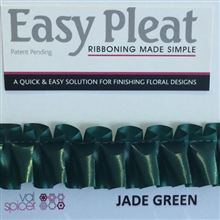 Easy Pleat Ribbon - Jade Green