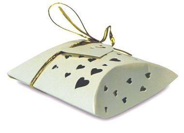 Favour Box - Pearl Ivory Pillow