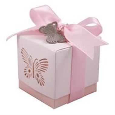 Favour Box - Pink Butterfly