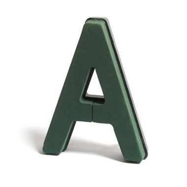 Floral Foam Letter A (Plastic Backed)