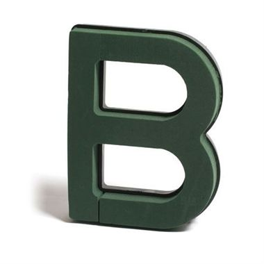 Floral Foam Letter B (Plastic Backed)