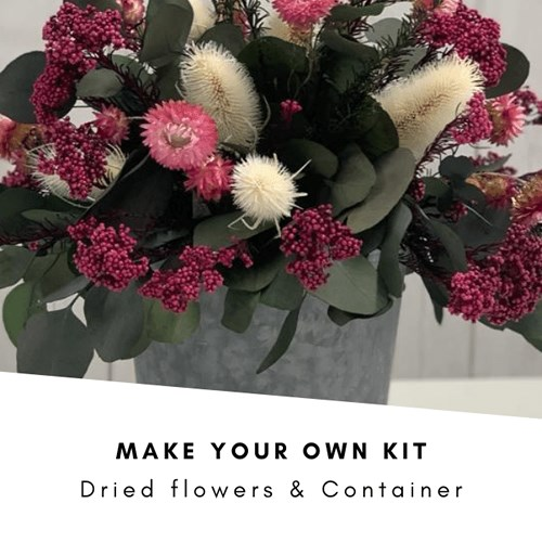 Make Your Own Dried Flower Table Centre Kit