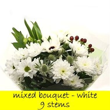 Bouquet White - 9 stems