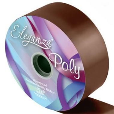 Ribbon Poly - Chocolate