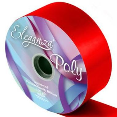 Ribbon Poly - Radiant Red