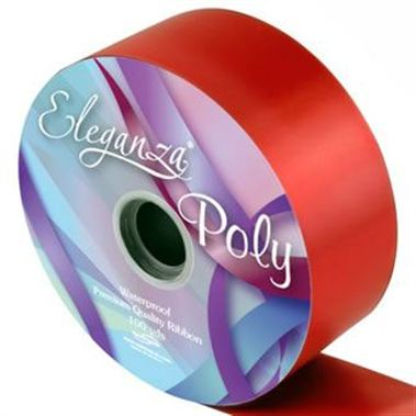 Ribbon Poly - Red