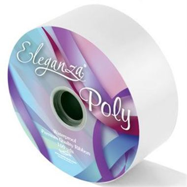 Ribbon Poly - White