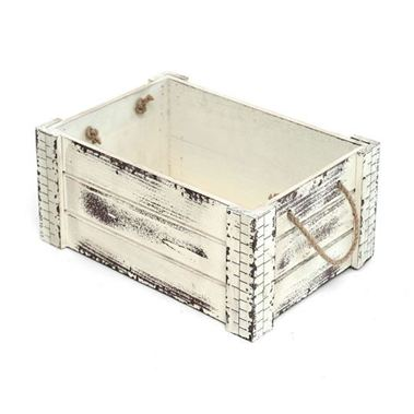 Shabby Crate White - Small
