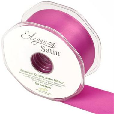 Ribbon Satin Cerise - 38mm