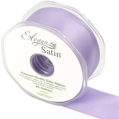 Ribbon Satin Lavender - 38mm