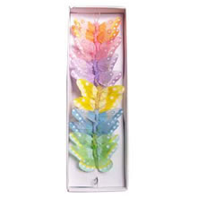 Butterflies Pastel Mix Feather 2.75""