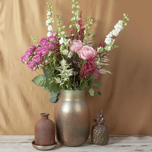 How To Make A Vase Arrangement With Astilbe And Larkspur Wholesale